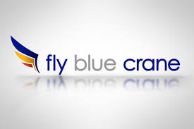 flyblucrane